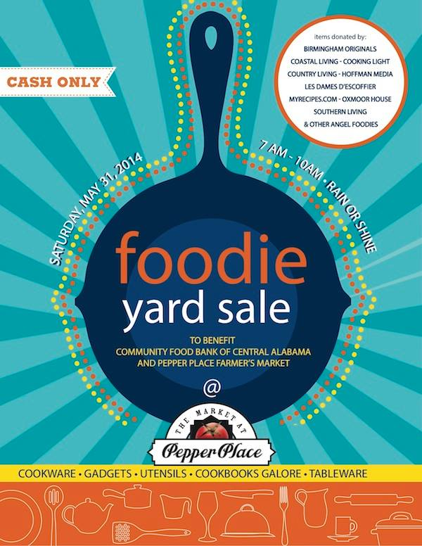 Foodie Yard Sale