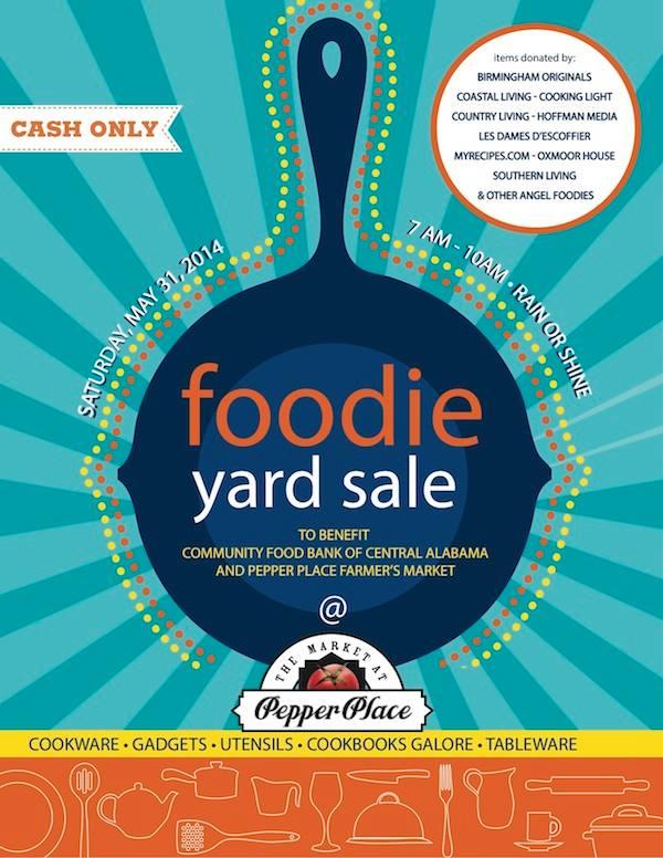 Foodie Yard Sale