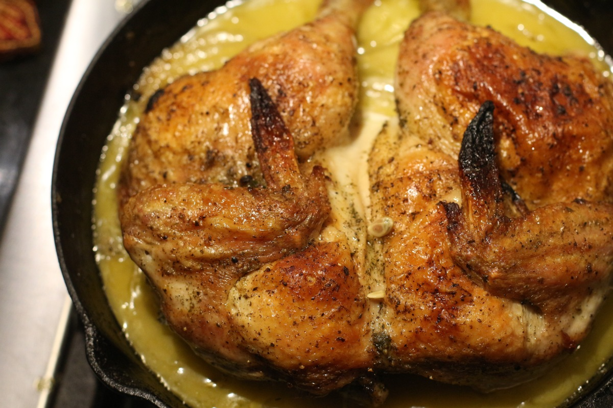 Ina garten s skillet roasted lemon chicken foodrevival - Ina garten baking recipes ...